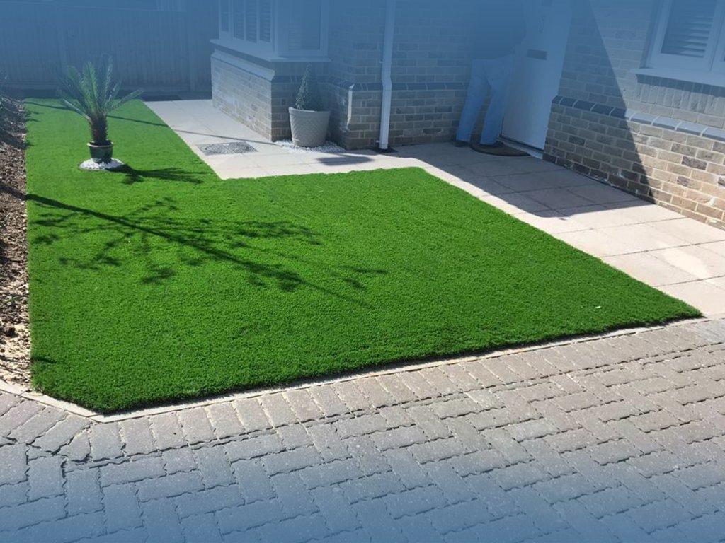 smart resin paving artificial grass
